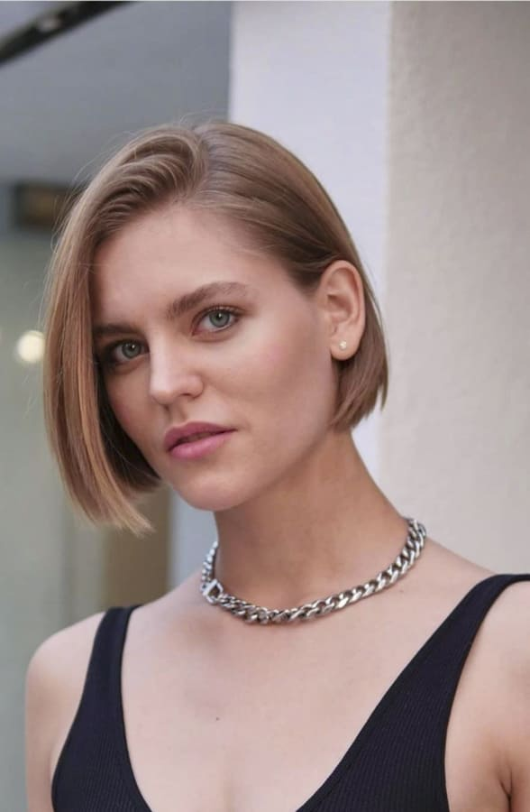 short hairstyles for round faces (2)