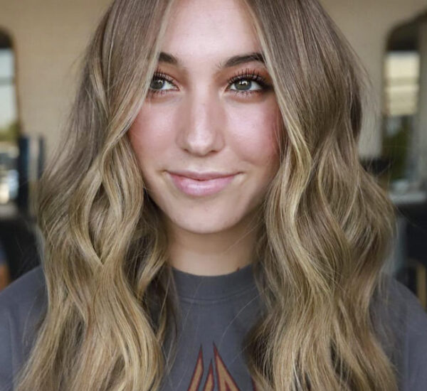 Ombre wavy hirstyles thin hair