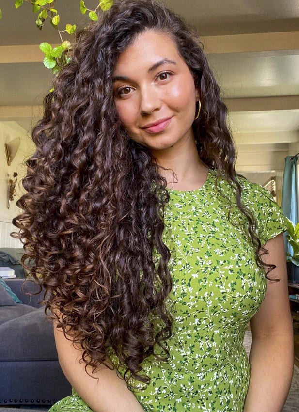 long curly hairstyles very easy