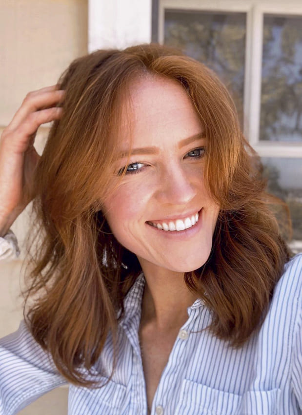 red medium over 35 hairstyles for thin hair