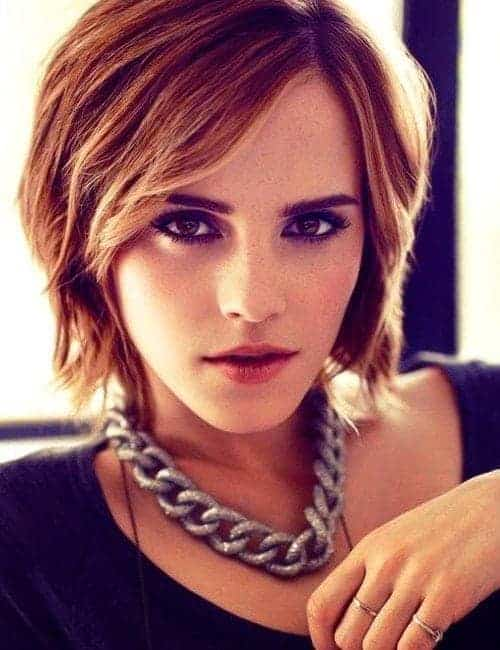 Chin lenght and short hairstyles for young ladies