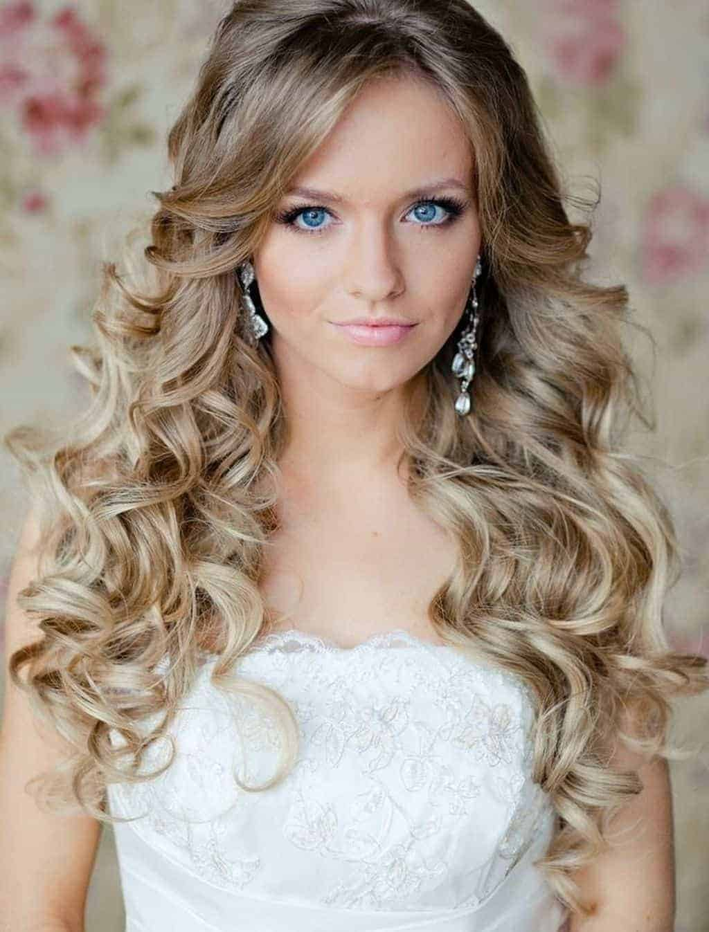 Hairstyles for long hair 2015 wedding