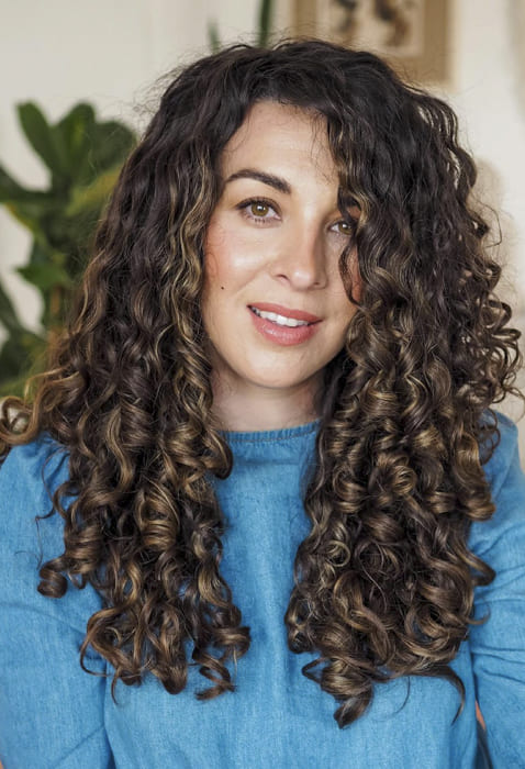 30 age Curly hairstyles for long hair