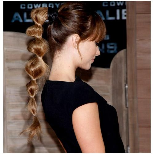 Long Ponytail hairstyles for school girls