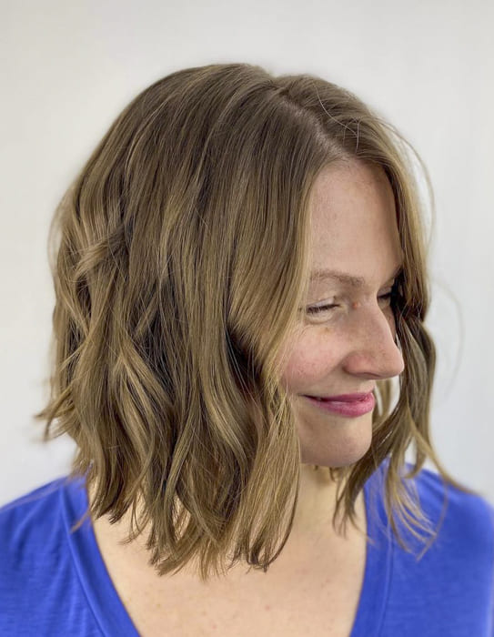 Brown hair over 40 chin length hairstyles