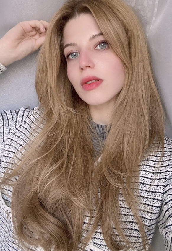 Long and thin hair layered hairstyles
