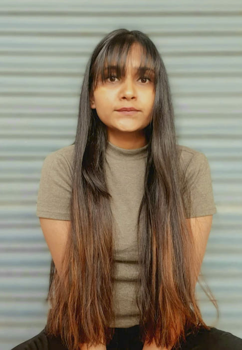 Long cute straight hairstyles with bangs