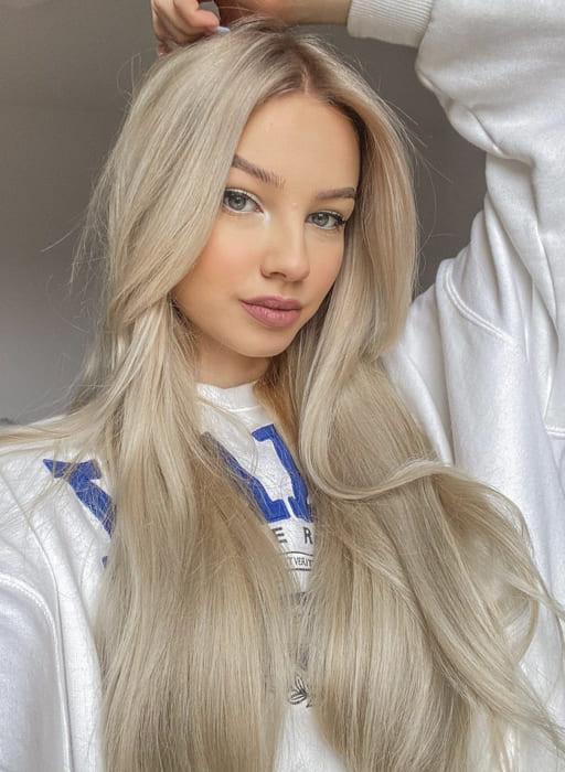 Long fine hair blonde hairstyles