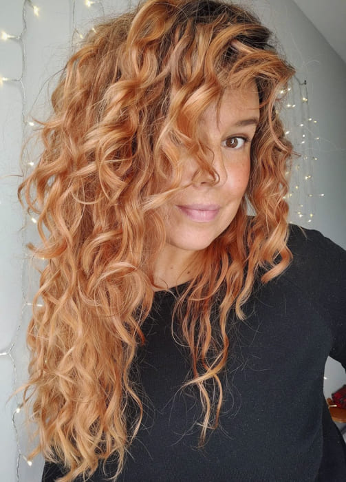Long red awesome wavy hairstyles