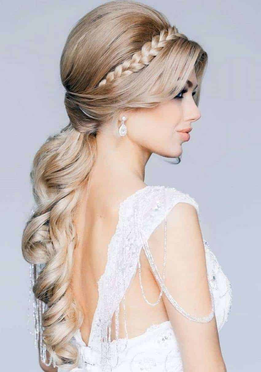 best hair style for wedding bridal hairstyles for hair 2015 womenstyle 8207