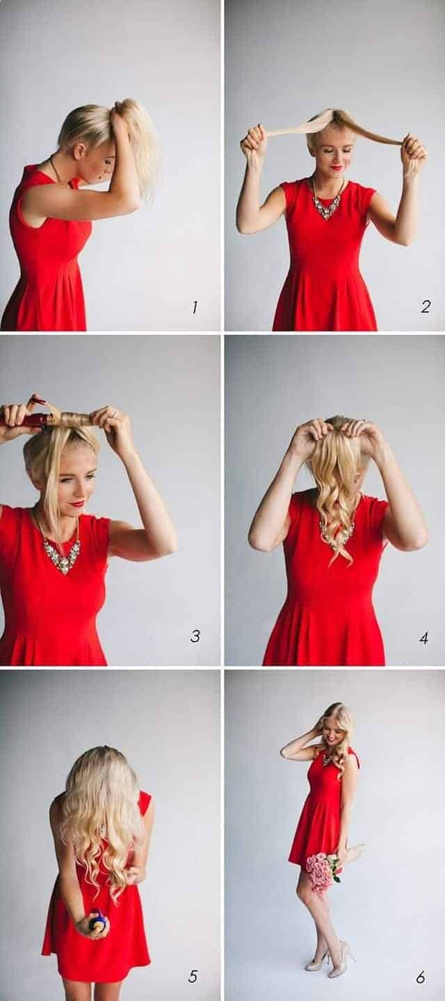 Wavy hairstyles with long hair how to