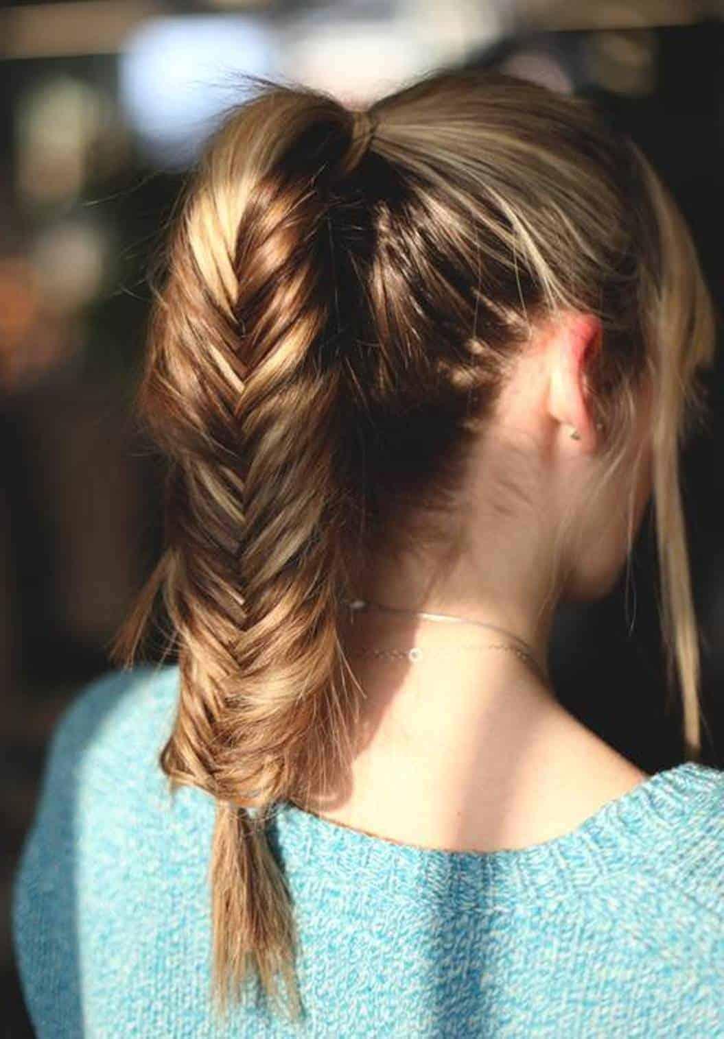 Спортивные прически длинных волос фото