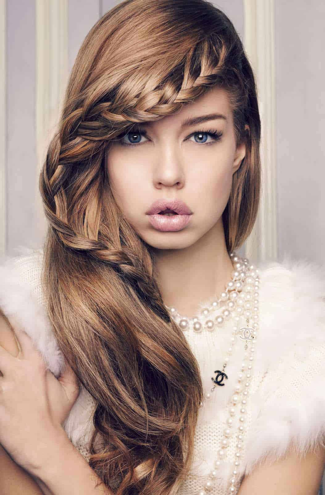 Bang Braid Hairstyles Interesting!