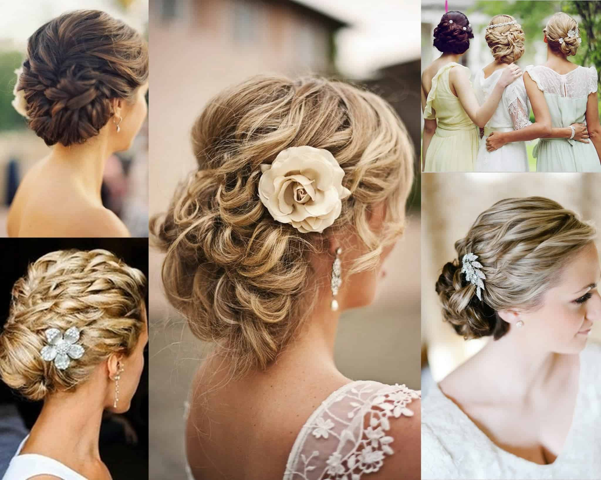 Easy updo hairstyles for long Blonde women