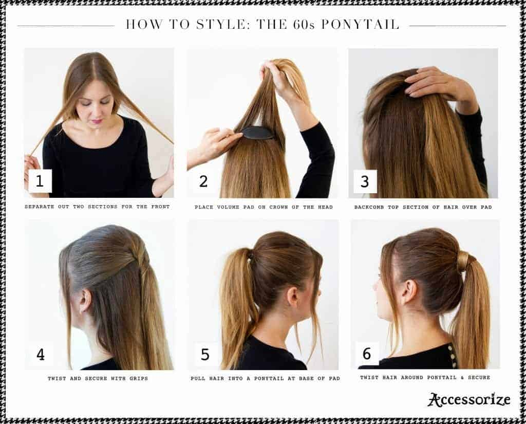 Ponytail hairstyles for school girls How To