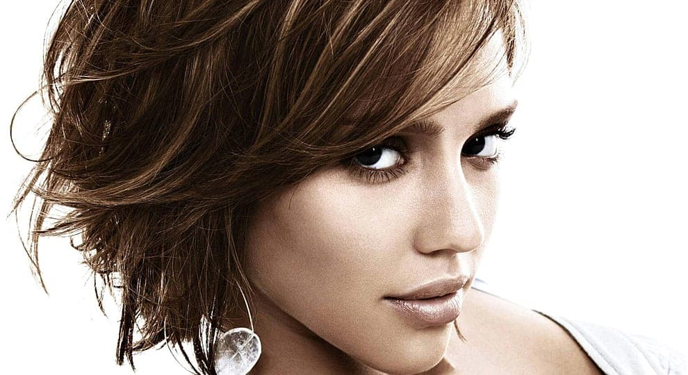 Jessica Alba Layered hairstyles For prom