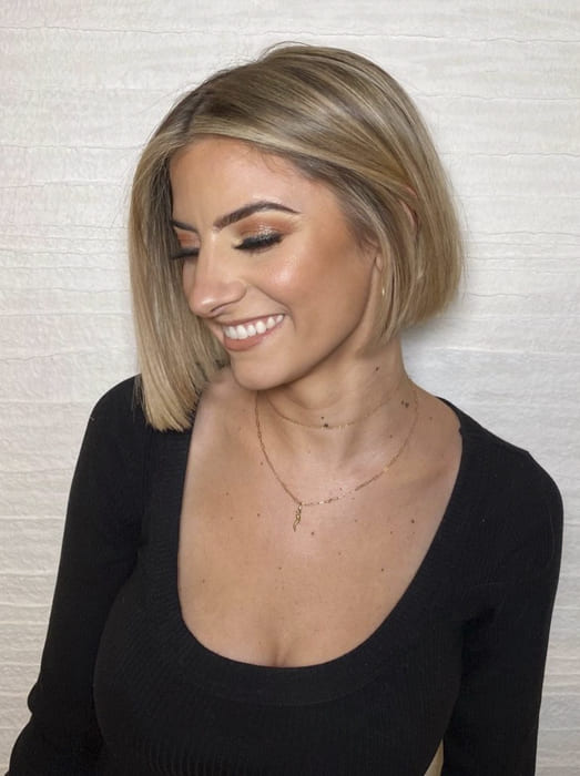 over 35 blonde short bob hairstyles