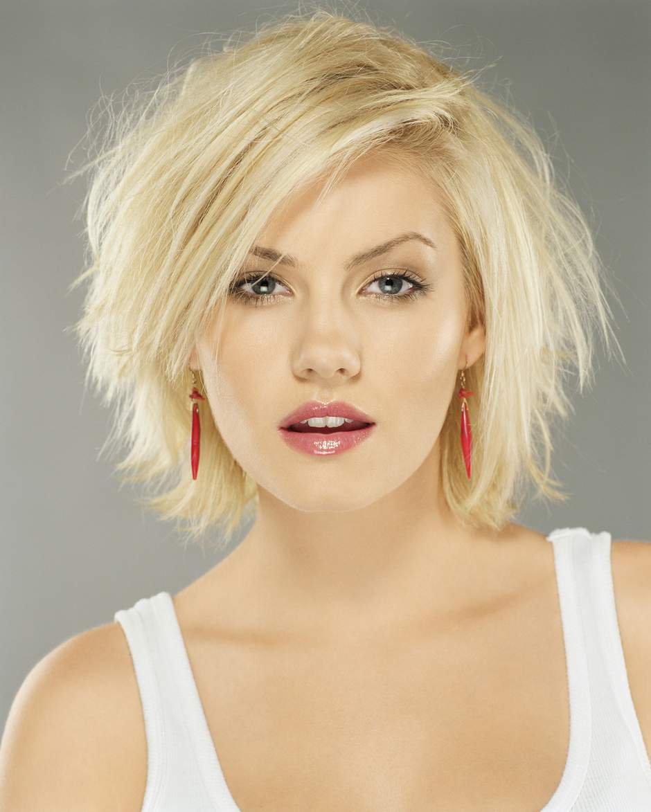 Short Messy and Chin lenght hairstyles