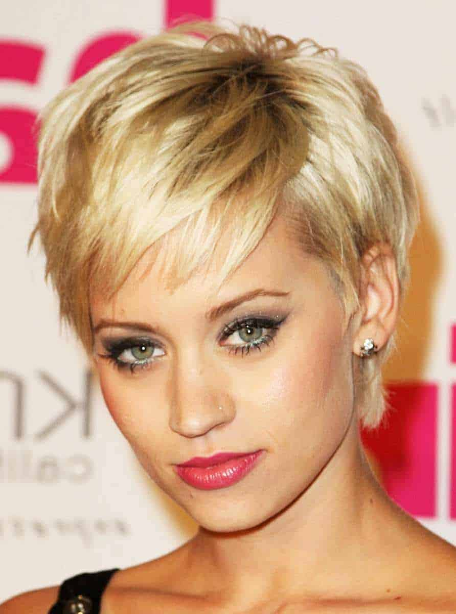 Short Pixie straight hairstyles