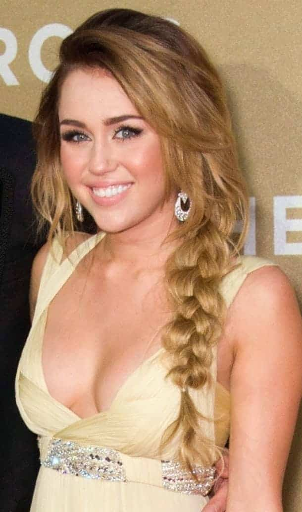 Miley Cyrus Braided Hairstyles 2019