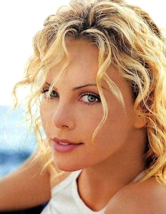 Charlize Theron Short layered hairstyles