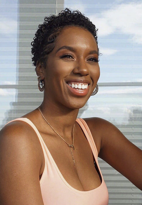 Short daily use hairstyles for black women