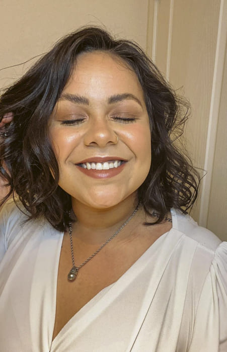 bob and brown messy hairstyles for short hair over 40