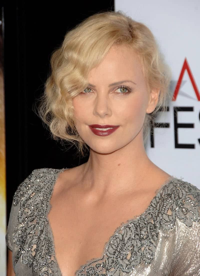 Charlize Theron Messy Hairstyles
