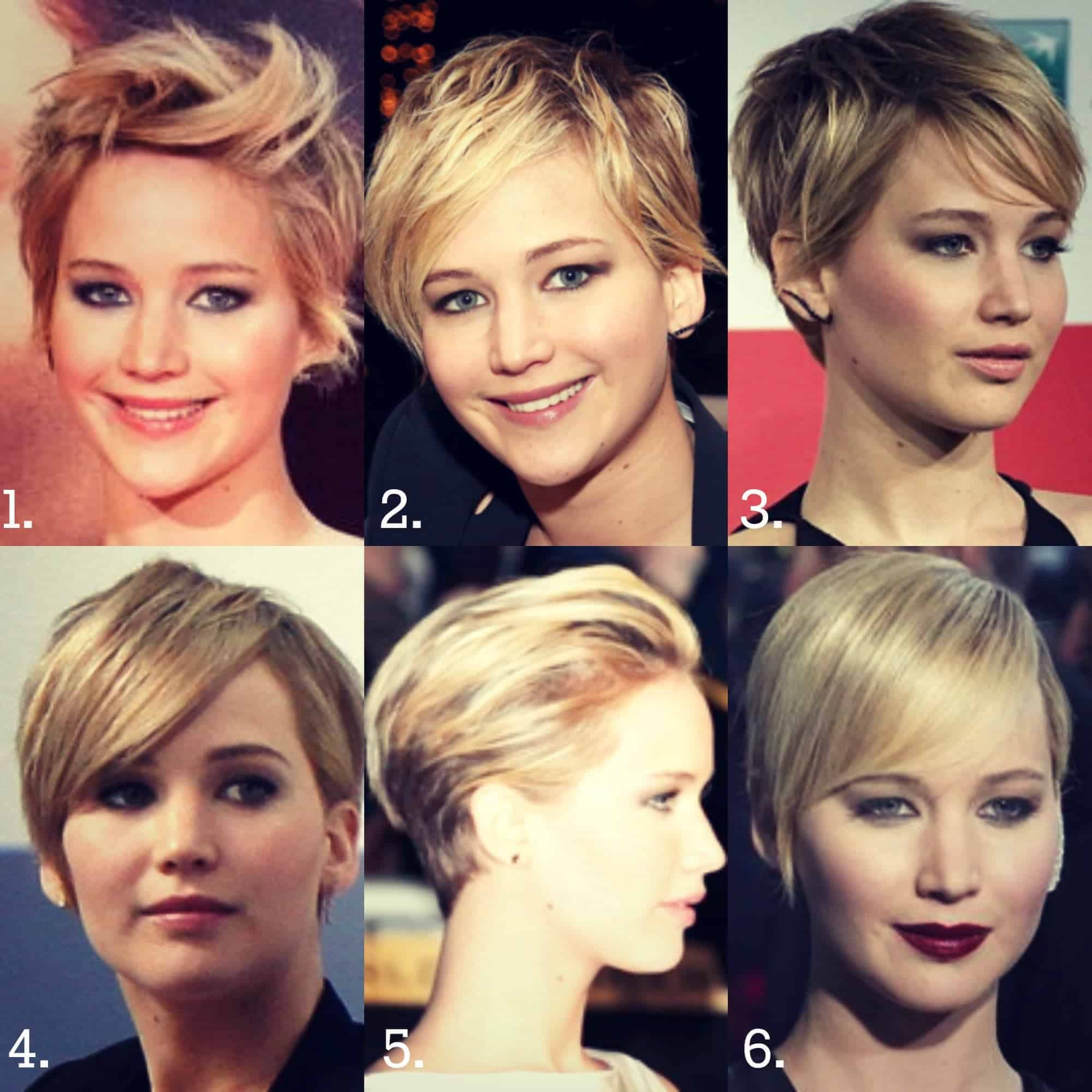jennifer lawrence short haircuts and Hairstyles