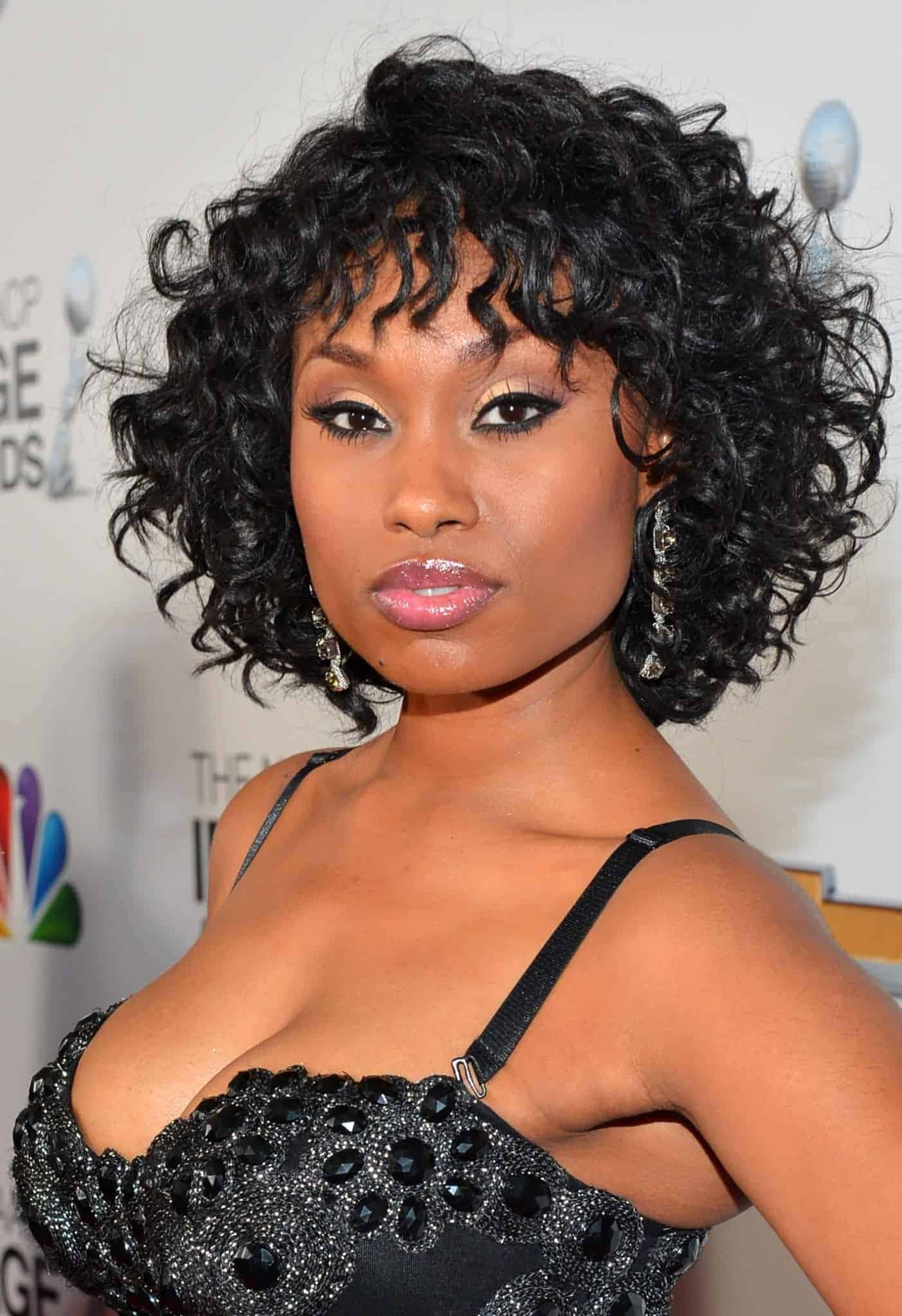 Short Bob Hairstyles for Black Women Curly Hair