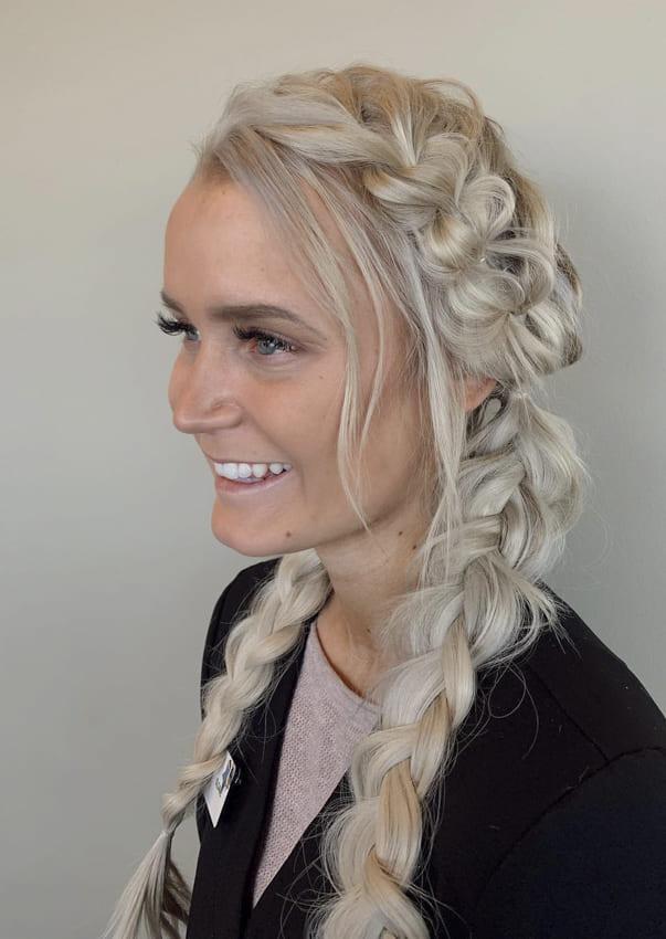 2 Fishtail Boho Hair