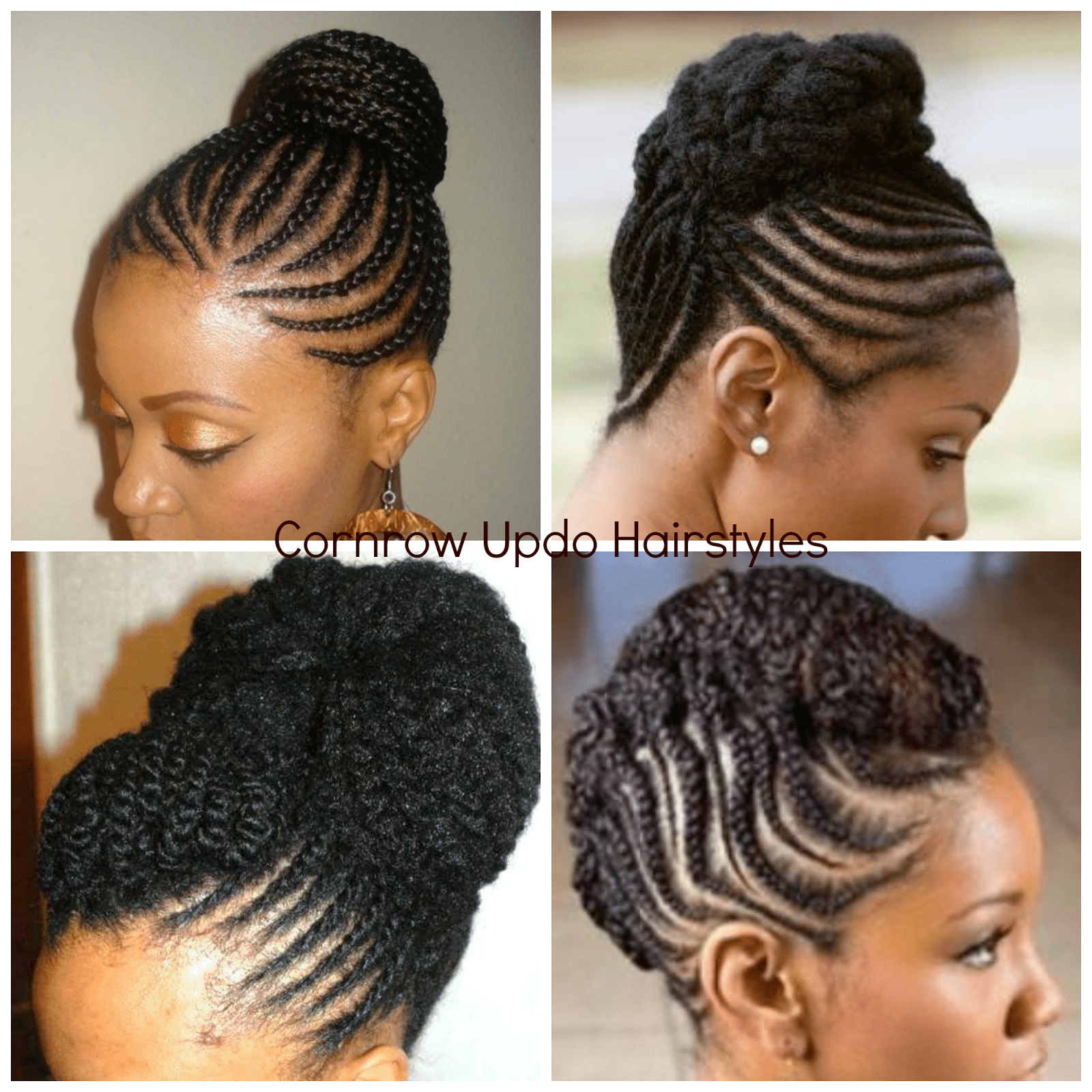 Cornrow Hairstyles for Black Ladies