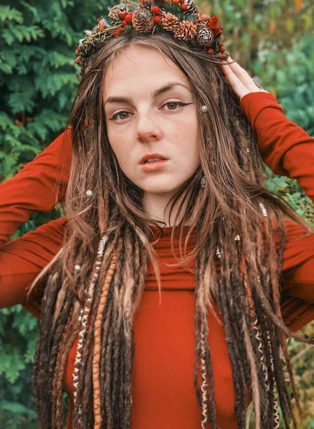 Floral Boho Hair