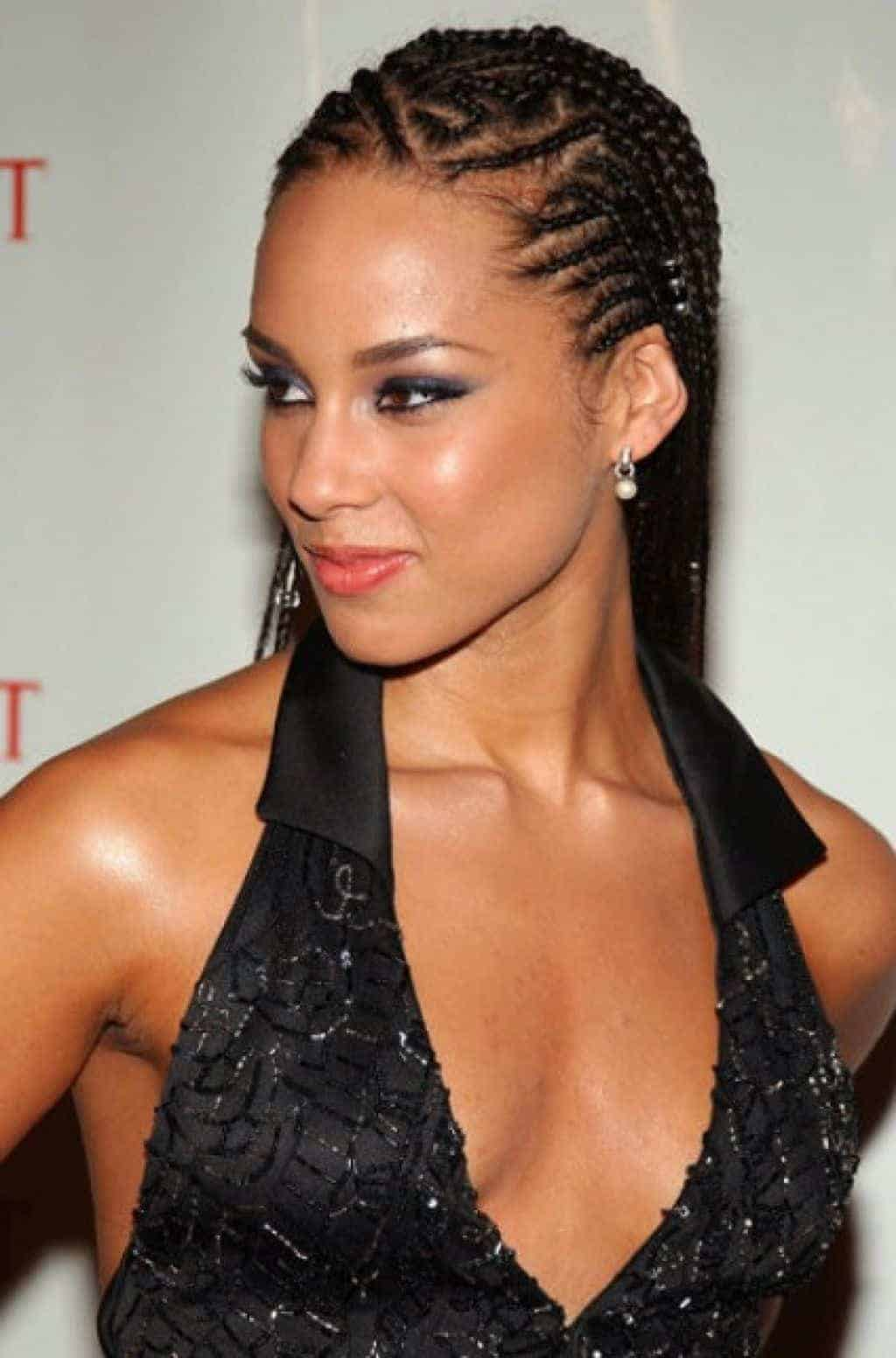 Outstanding How To French Braid Short African American Hair Braids Hairstyle Inspiration Daily Dogsangcom