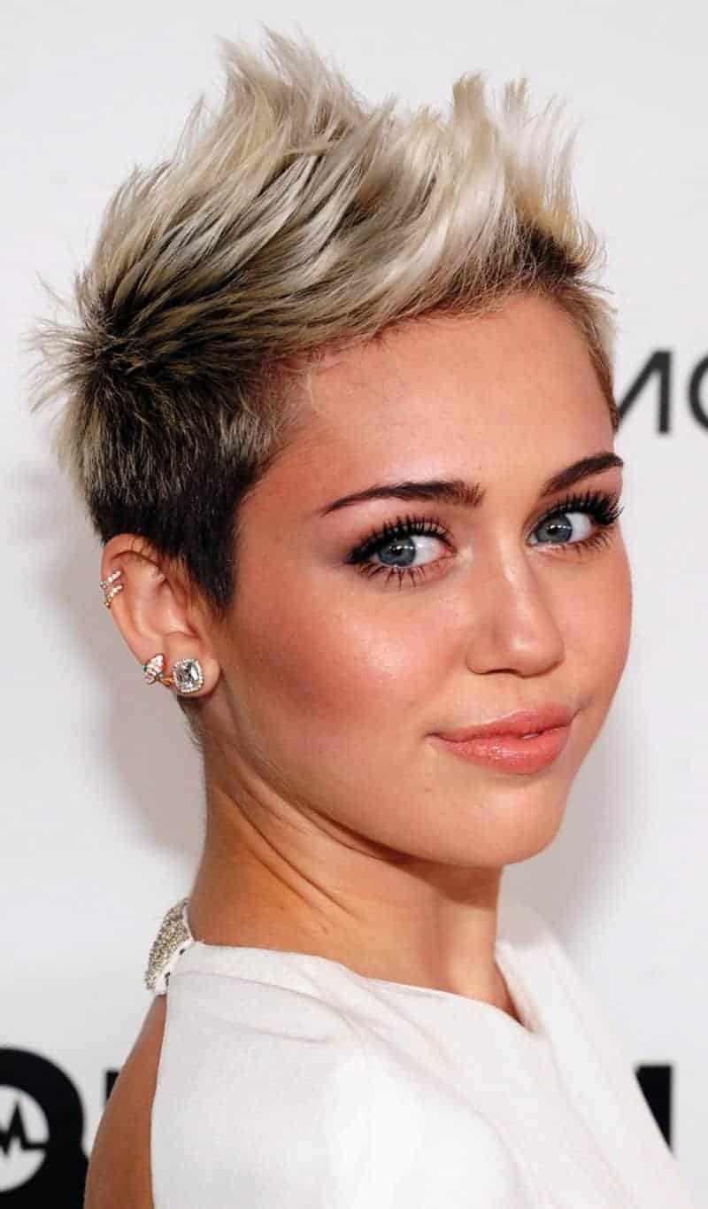 miley cyrus Short funky hairstyles For Celebrity