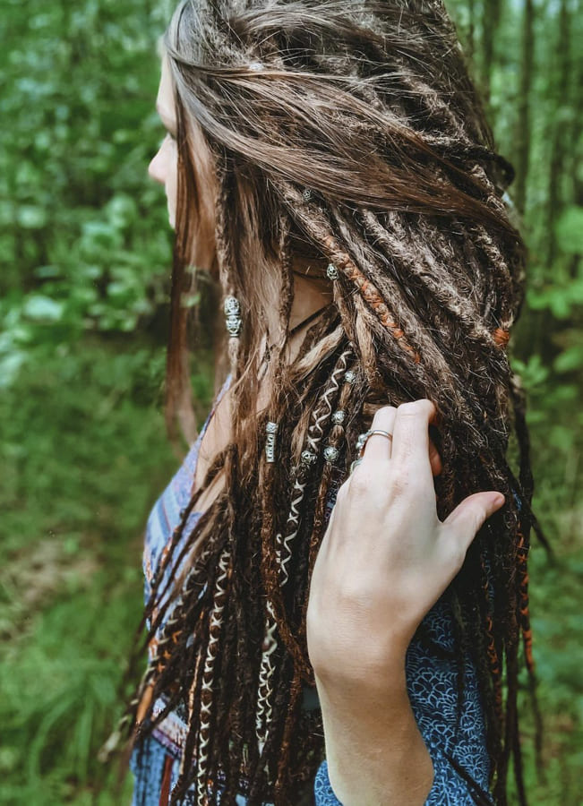 Hippie hairstyles for medium length hair