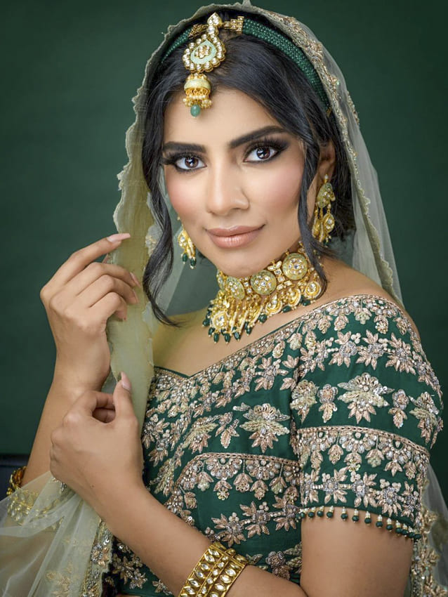 Indian wedding hairstyles for Brides (1)
