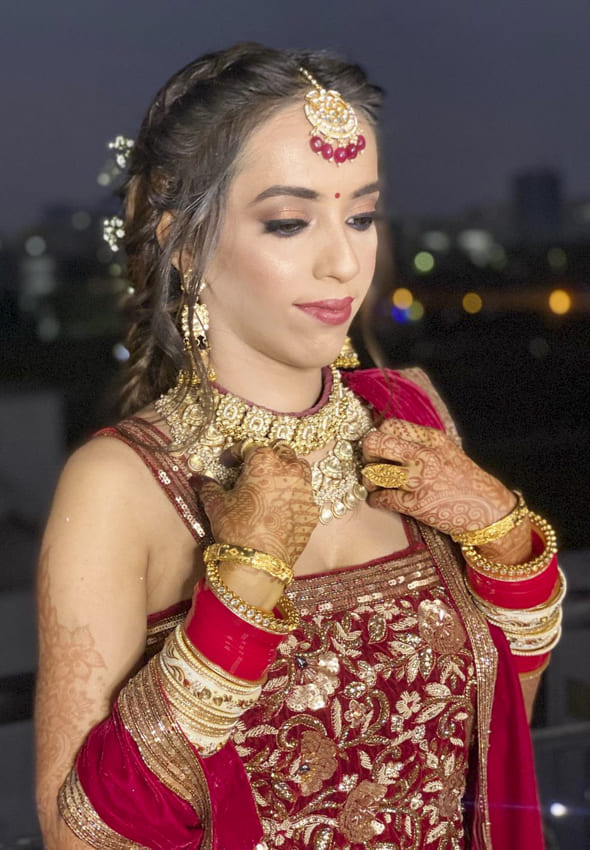 Indian wedding hairstyles for Brides (3)