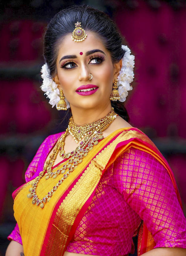 Indian wedding hairstyles for Brides (5)