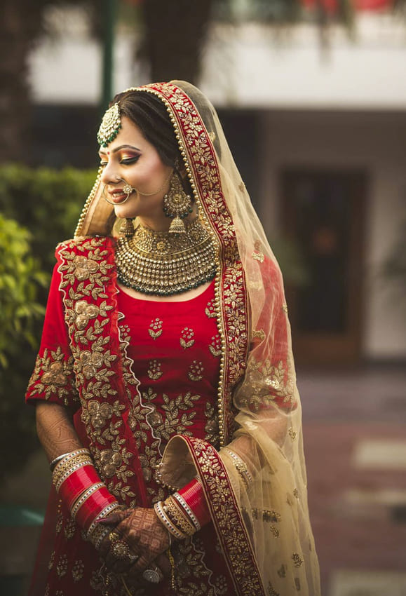 Indian wedding hairstyles for Brides (7)