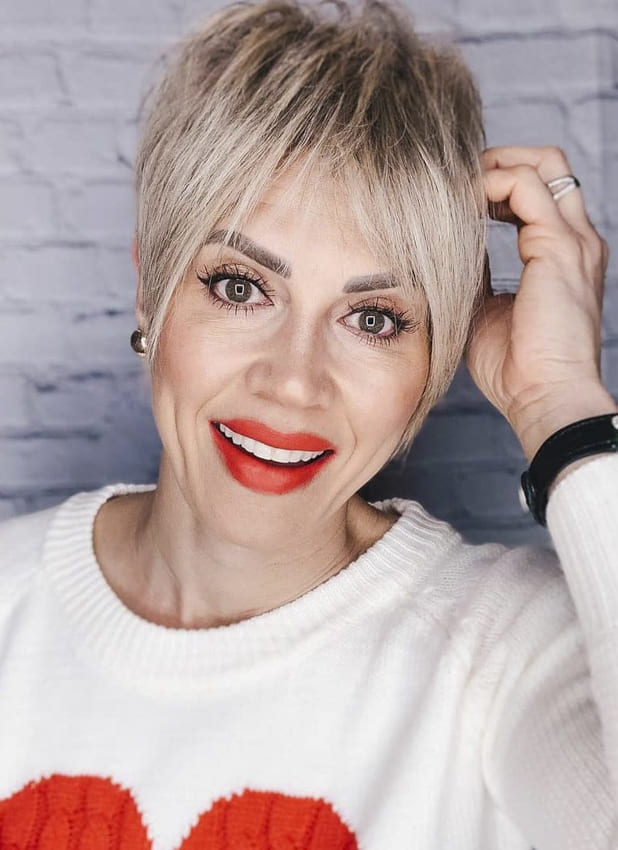 Pixie over 50 hairstyles