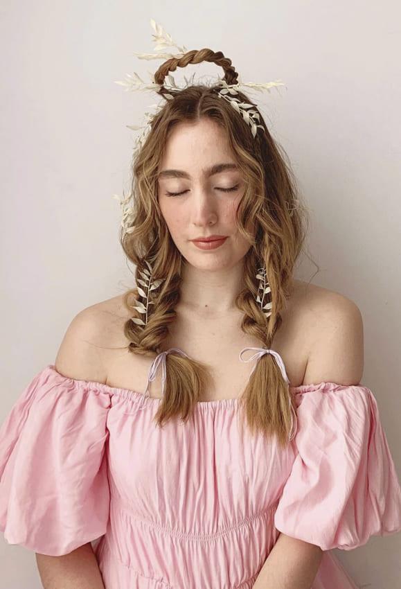 Two Side Fishtail Boho Hair