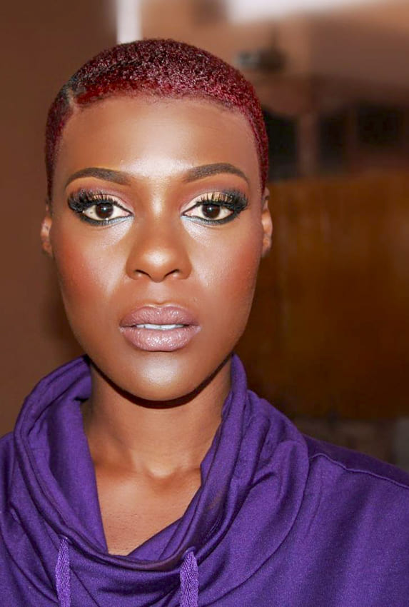 Very short hair black women hairstyles for oval faces
