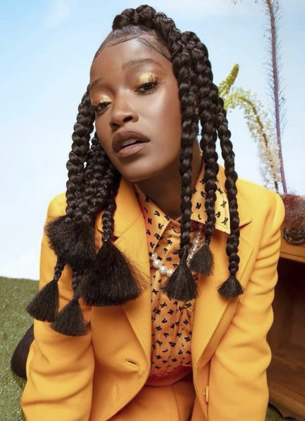 big and large cornrow hairstyles