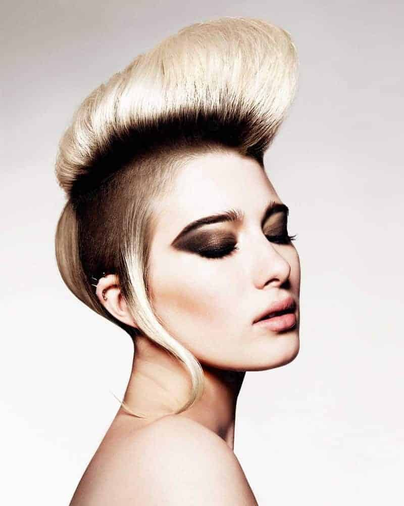 Mohawk Hairstyles For Blonde Hair