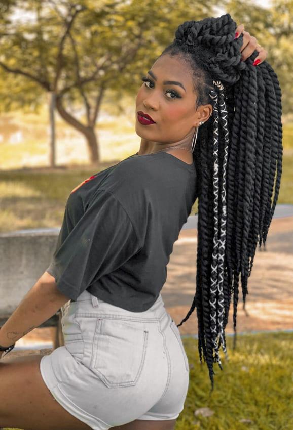 croshay twist hairstyles for black women