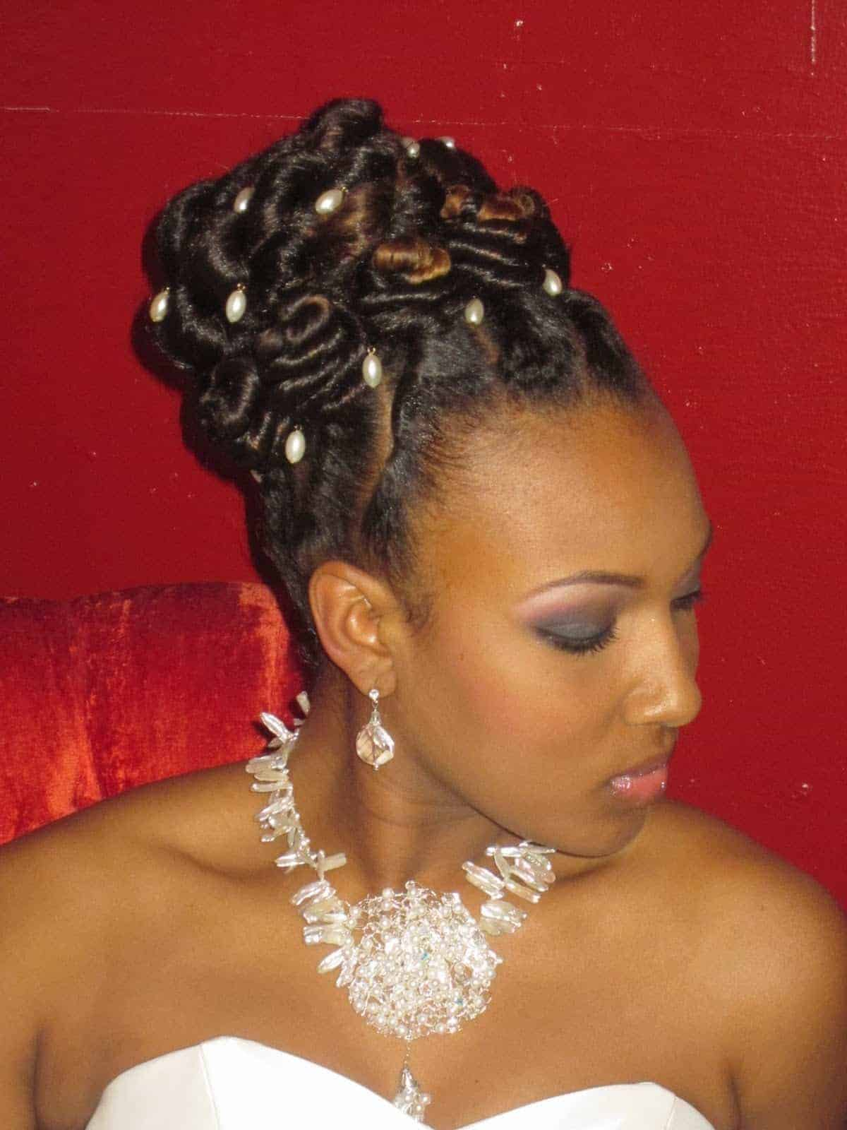 Twist hairstyles for black Women Wedding Hairstyles
