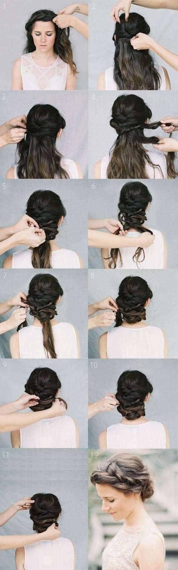 Micro braid hairstyles for long hair