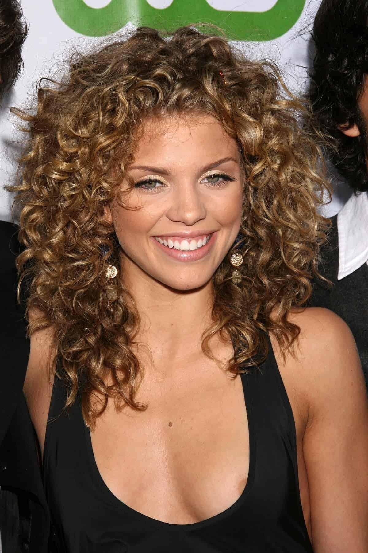 Short wavy and curly hairstyles