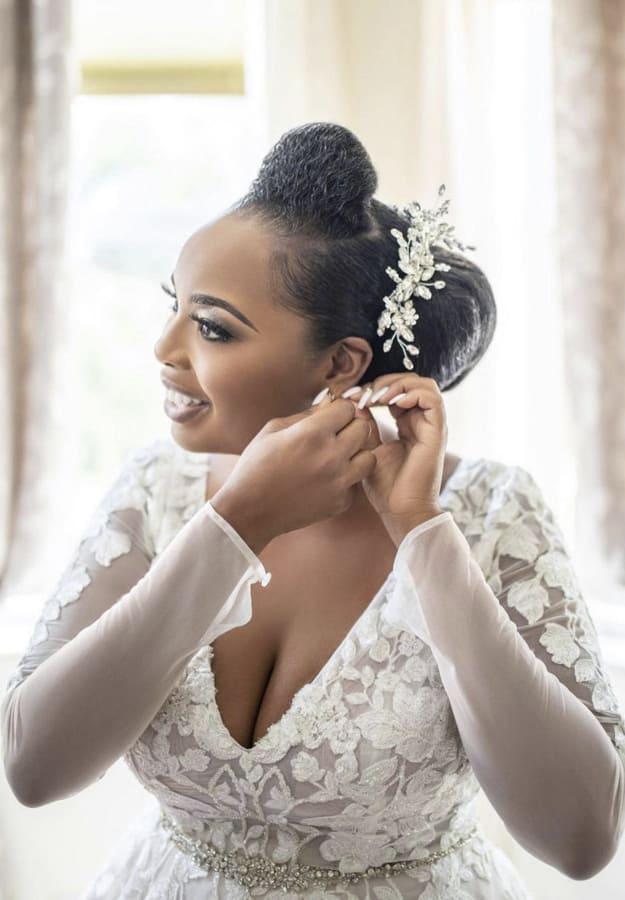 Micro braid hairstyles for wedding